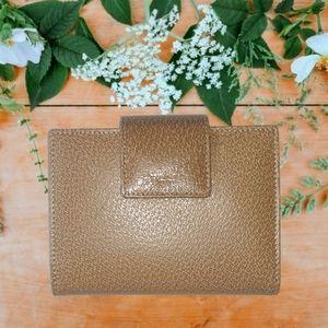 2002 Kate Spade Leather Pocket Organizer Wallet